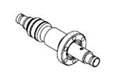 1 Pin Coaxial BNC Conflat Double-Ended Feedthrough