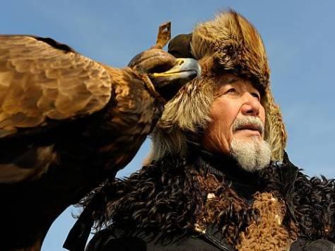 Falcoaria no Cazaquistão