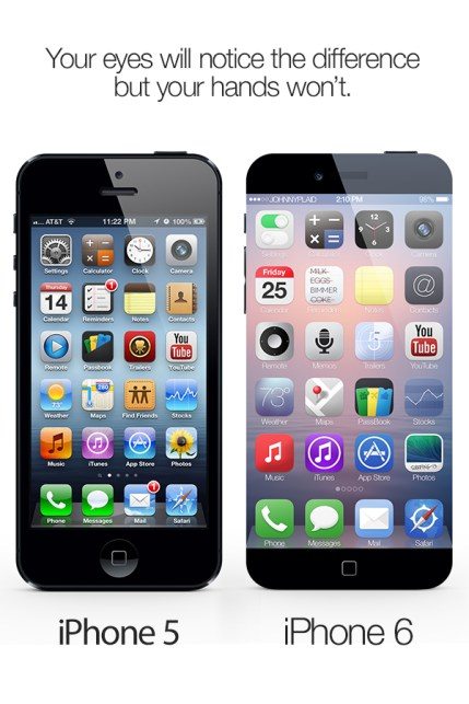 iPhone 5 vs. iPhone 6