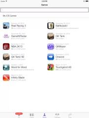 Game Center mit Games in IOS 7 mit iPad