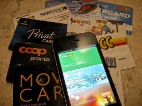 Passport und Mitgliedskarten