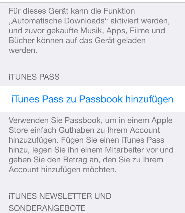iTunes App Store Apple ID