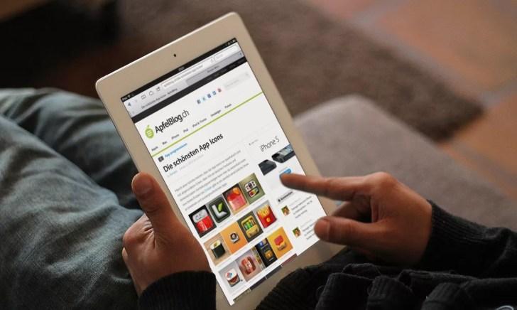 ApfelBlog.ch iPad