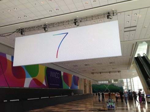 iOS 7 an der WWDC