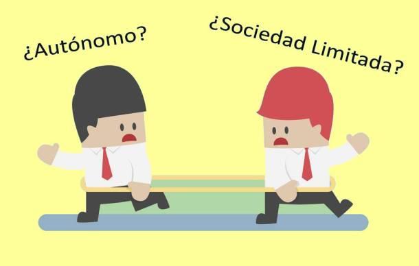 sociedad limitada o autonomo