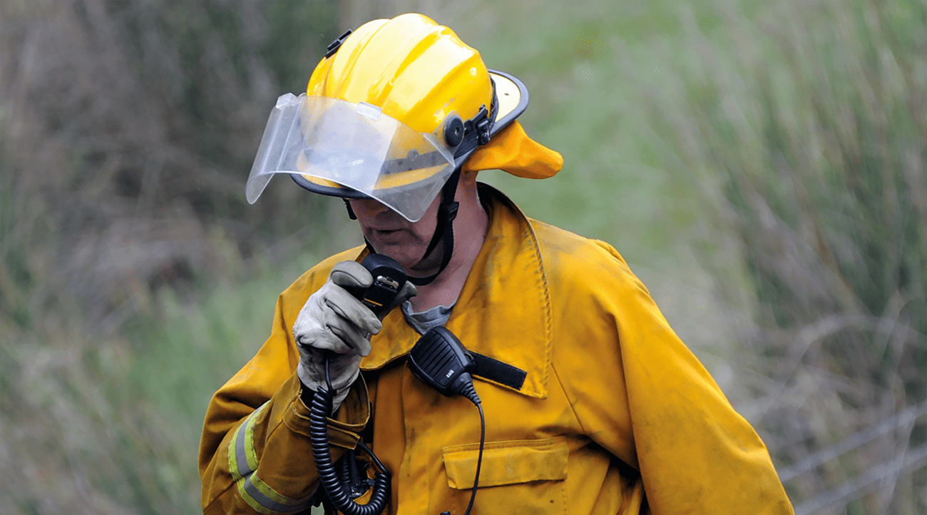 Radio is the lifeblood for safety on the fireground.