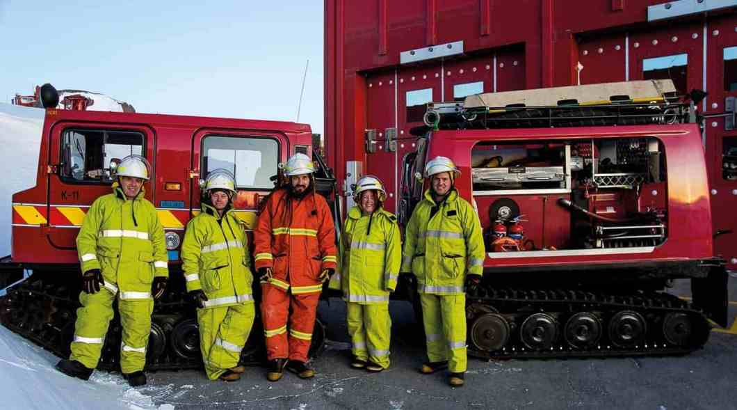 Mawson fire team 2016.