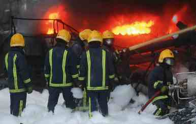 Firefighters at increased risk from re-ignition if F3 had been used.