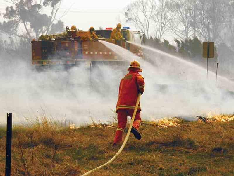 Hatz Diesel provide support for fire services Australia-wide.