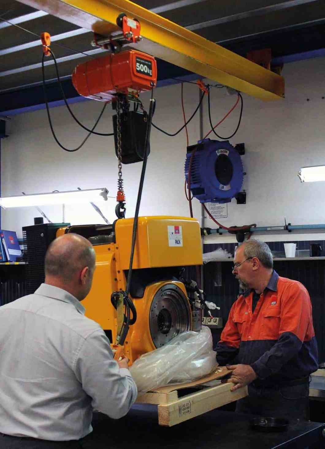 All Hatz Diesel engines are run-tested before they are sent to customers so they are ready to install when they arrive.