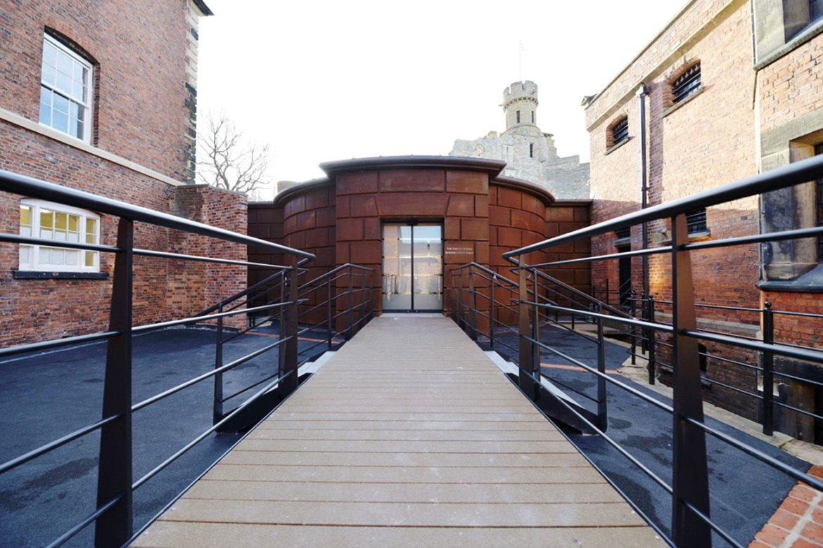 An Advanced gas suppression system protects the Magna Carta vault at Lincoln Castle, UK.