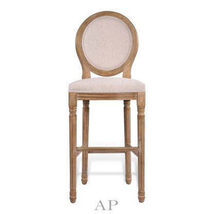 louis-xv-upholstered-bar-chair-front-view-ap-furniture