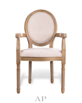 louis-upholstered-dining-armchair-oak-linen