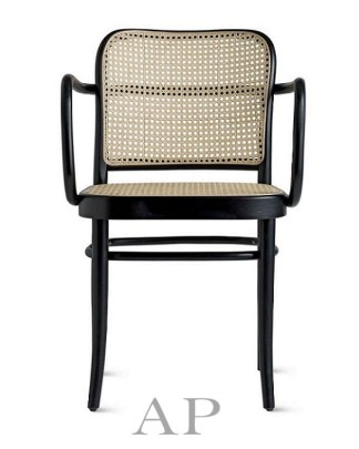hoffmann-natural-solid-bentwood-cane-dining-arm-chair-with-woven-rattan-seat-black-natural-2-ap-furniture