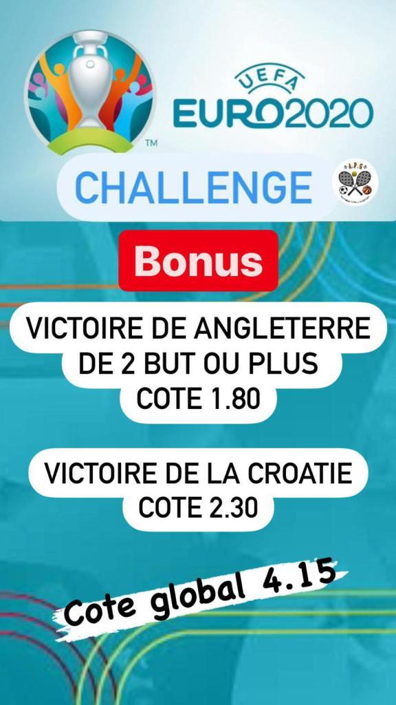 Prono challenge Euro bonus