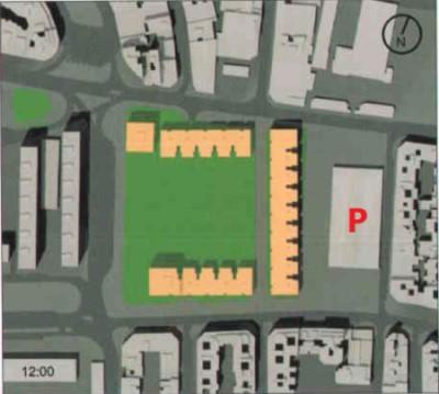 Polideportivo según el Plan General Metropolitano aprobado el 23 de mayo de 2006