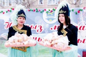 И «Снежный десант», и «Баурсак-party»