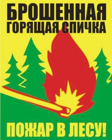 Пожар страшен и зимой, и летом