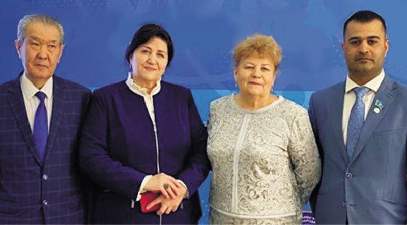 Говорят участники XXIX сессии Ассамблеи народа Казахстана…