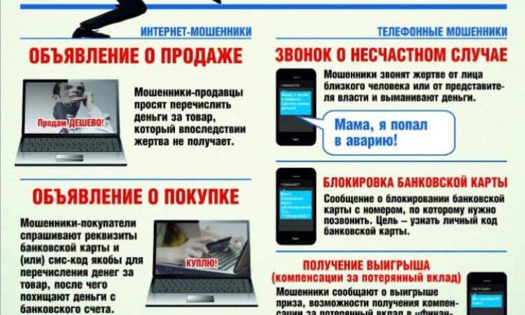 Остерегайтесь интернет-мошенничества