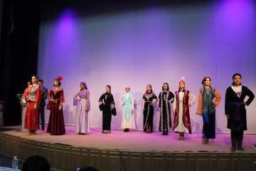 В Кокшетау прошел конкурс национальных костюмов