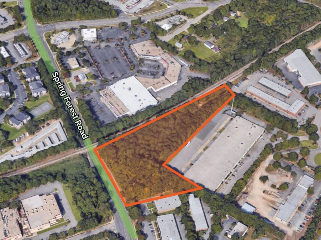 2.86 Acres on Spring Forest Rd