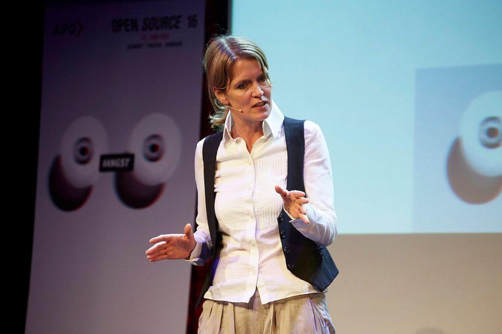 Ann-Cathrin Sudhoff, Schauspielerin, Open Source 2016 der APG im Schmidt Theater Hamburg am 02.06.2016