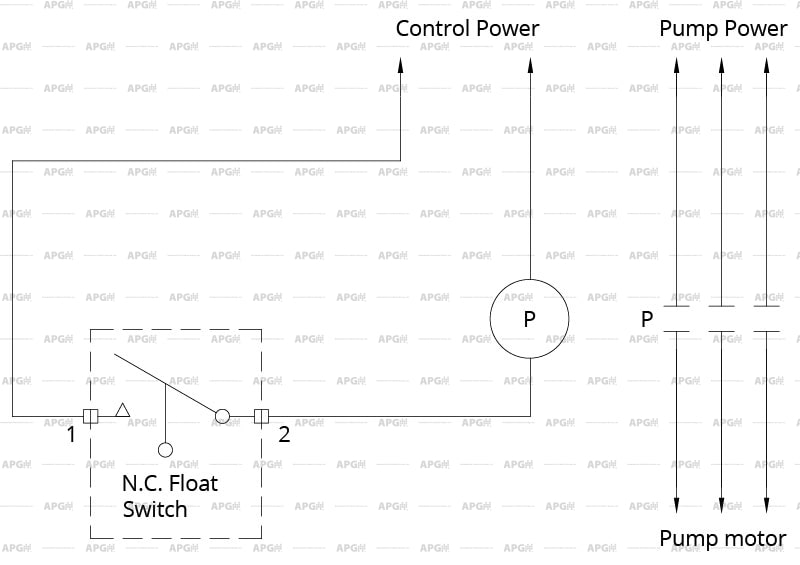 Float Switch Installation Wiring & Control Diagrams