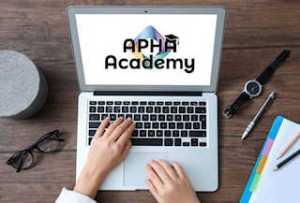 APHA Academy desk