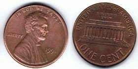penny - from Wikimedia Commons
