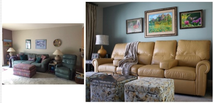 Thousand Oaks Family Room - Alicia Paley Home Interiors