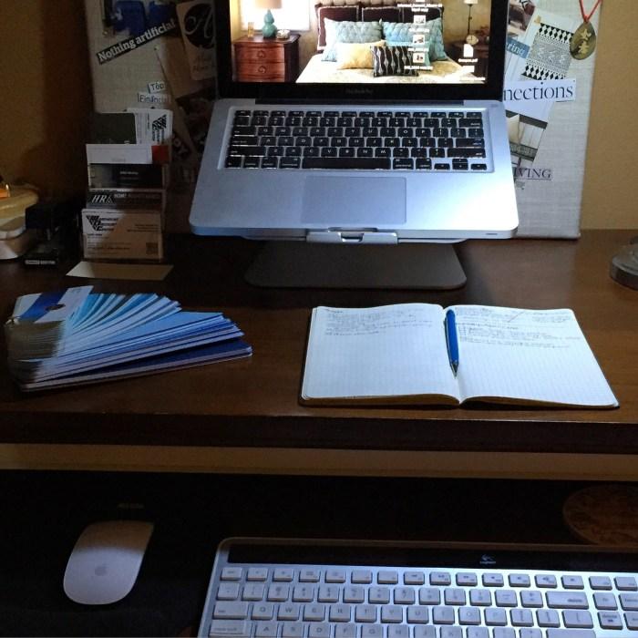Ergonomic Desk Setup - Alicia Paley Home Interiors