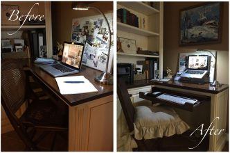 Pain - Office set up - Alicia Paley Home Interiors