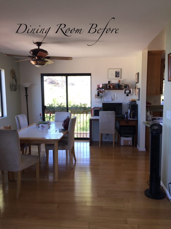 Before - Newbury Park Dining Room Design