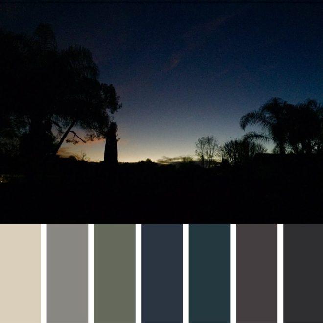 Moddy Blues Palette