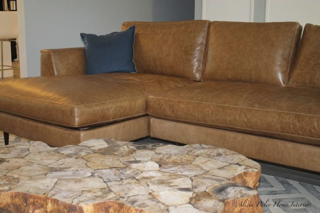 Thousand Oaks Living Room - Sofa & Table Closeup