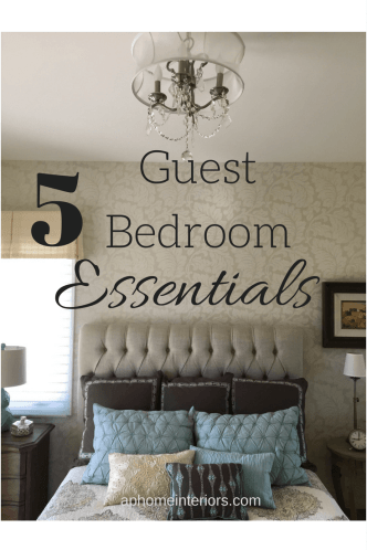 Guest Bedroom Essentials