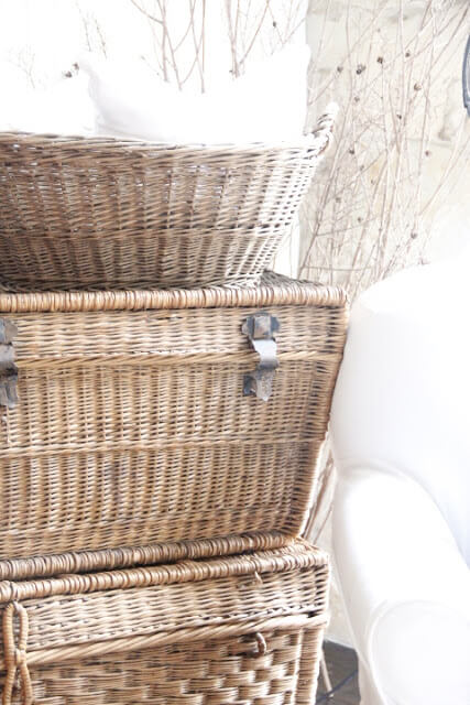 Guest Bedroom Storage Baskets