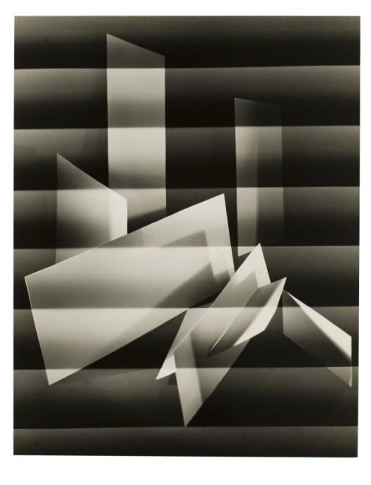 Carlotta M. Corpron American, 1901-1988 Floating, 1945 Gelatin silver print Gift of Clarence John Laughlin, 82.281.25