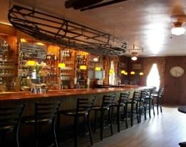 The bar at the Indian Rock Inn