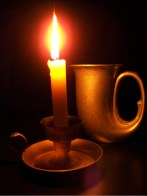 Candle and Tankard