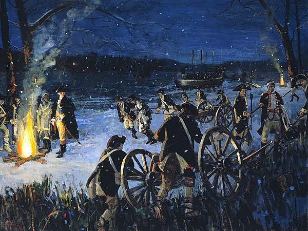 Washington Crossing The Delaware by Peter Fiore