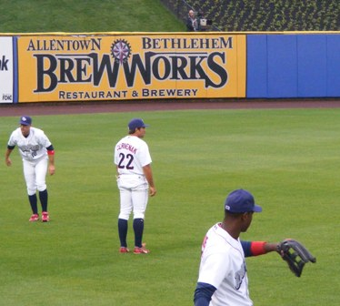IronPigs Outfield