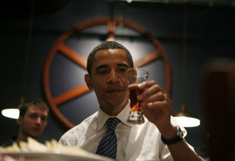 Pesident Obama at Bethlehem Brew Works