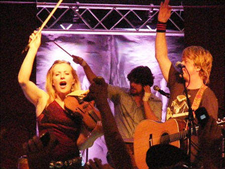 Gaelic Storm raise the roof at the Celtic Classic