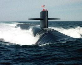 Ohio Class Nuclear Submarine