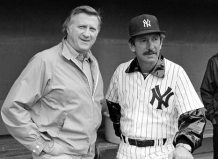George Steinbrenner and Billy Martin, AP Photo