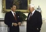 "President Ronald Reagan and Thomas ""Tip"" O'Neill"