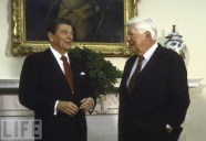 "President Ronald Reagan and Thomas ""Tip"" O'Neill"