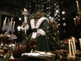 Edward Woodward as the Ghost of Christmas Present 1984
